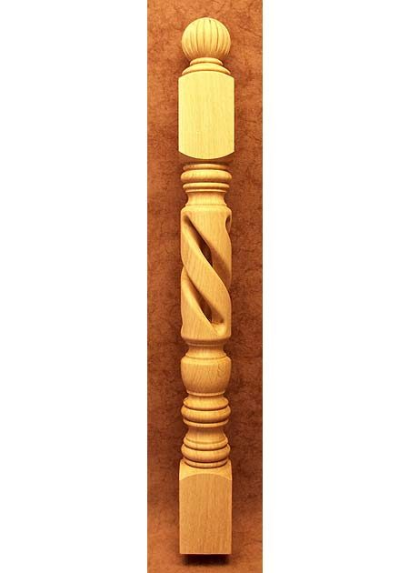 Balustres en bois LC01K-3