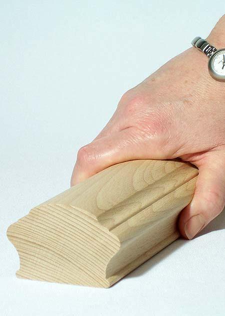 Main courante en bois HR12
