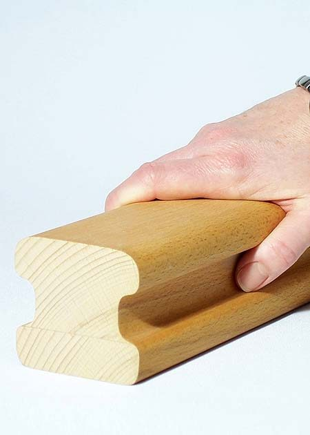 Main courante en bois HR13