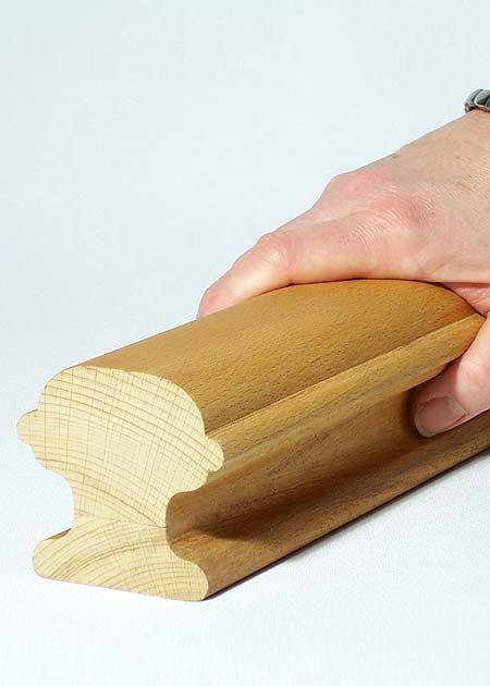 Main courante en bois HR16