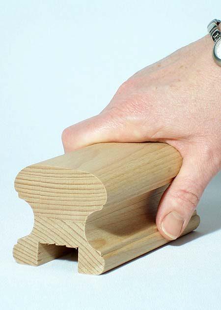 Main courante en bois HR18