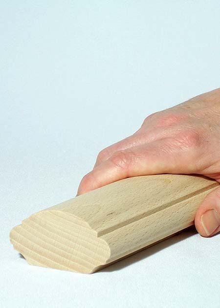 Main courante en bois HR25