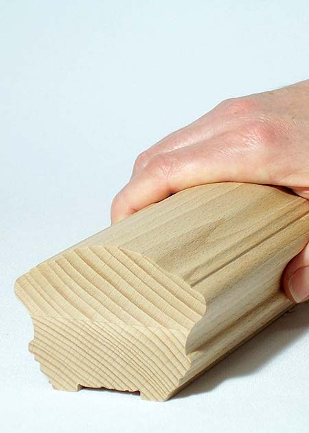 Main courante en bois HR36