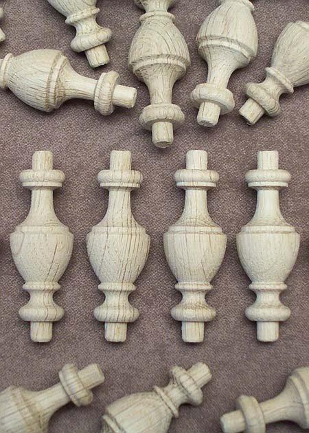 Pieces en bois tourne GZ05