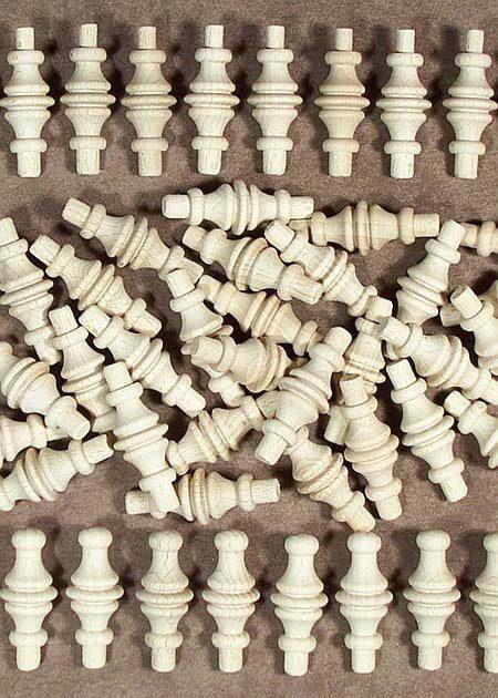 Pieces en bois tourne GZ08