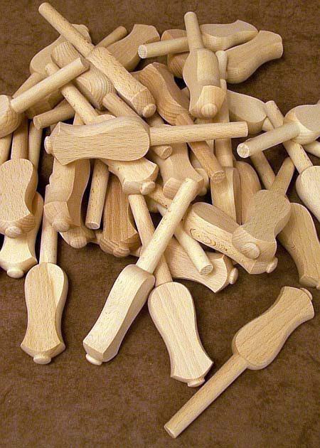 Pieces en bois tourne GZ234