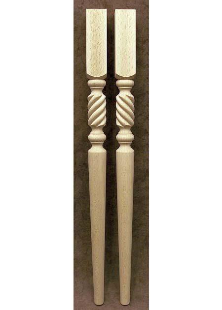 Pied de table, decore de motif de corde court TL26